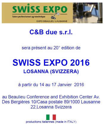 SWISS EXPO 2016